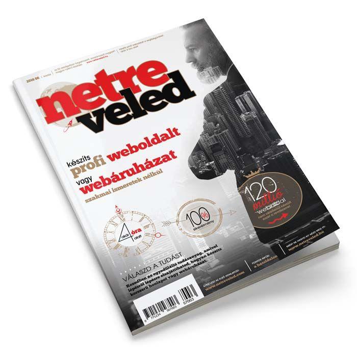 Netre Veled magazin - weboldalkészítés
