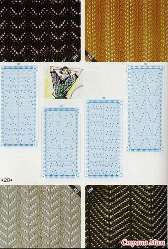 knitting pattern II TOYOTA Lace 9
