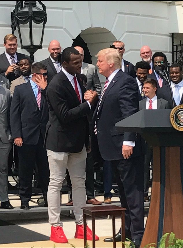 Clemson Football 2016 National Champs at the White House!