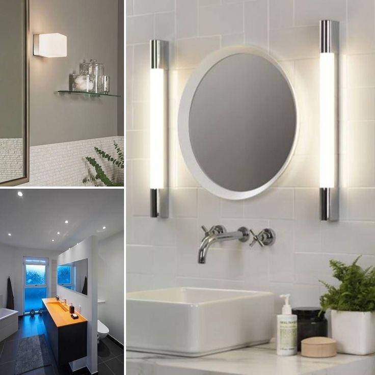 b a d e r o m  . . . Et rom hvor godt lys betyr mye! Vi har kampanje på baderomsbelysning nå - finn dine nye lamper idag! ___