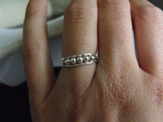 channel ring Sterling silver by shadyg on Etsy, $32.50Occasion Jewelry, Crosses Jewelry, Rings Bling, Rings Sterling, Jewelry Design, Channel Rings, Infinity Jewelry, Jewelry Organic, Medieval Jewelry