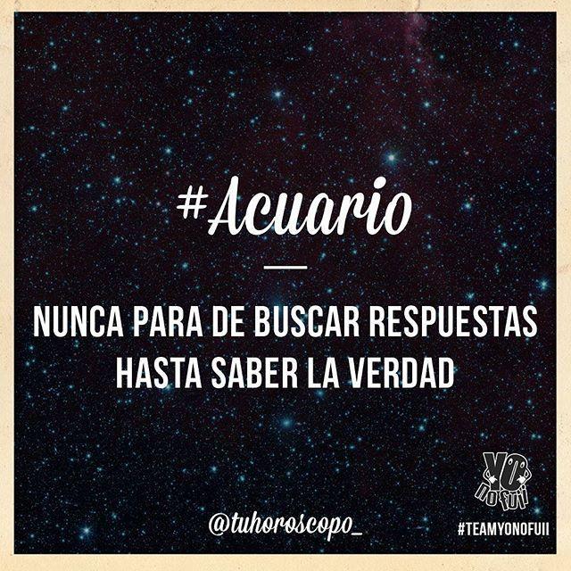 #Acuario  Follow @acuarioth_  #elhoroscopodice  #Horoscopo #horoscope #zodiaco #astrologia