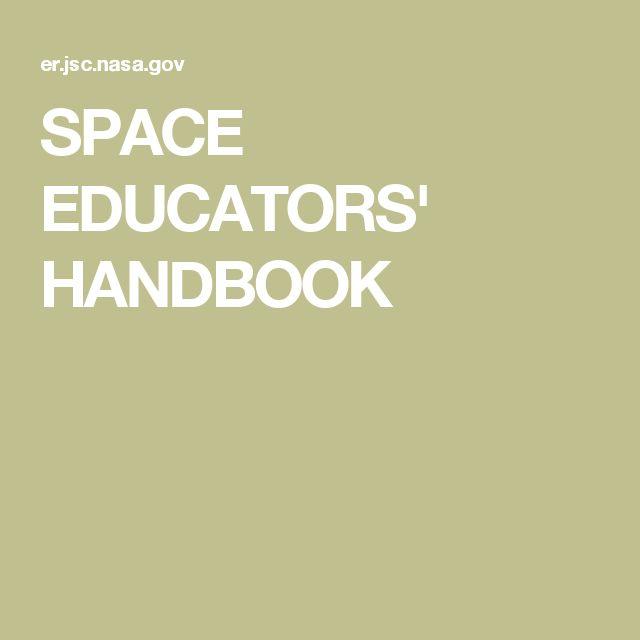 SPACE EDUCATORS' HANDBOOK