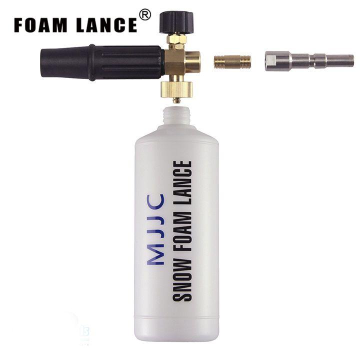 Boquilla de espuma de nilfisk/kew/densin 110e/penokomplekta liberación rápida profesional de alta presión lavador de carros