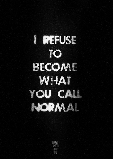 :) Why be normal when you can be different??