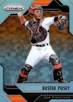 2017 Panini Chronicles - Prizm #35 Buster Posey Front