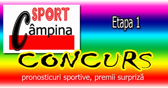 sportcampina: CONCURS. Etapa 1