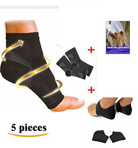 Dr Kellys Plantar Fasciitis Arch Support Compression Sock Foot Sleeve Kit w Ebook *** Find out more about the great product at the image link.
