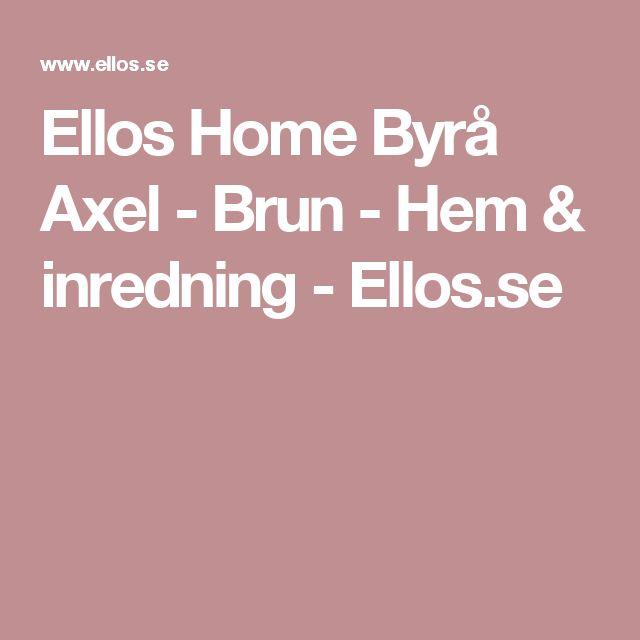 Ellos Home Byrå Axel - Brun - Hem & inredning - Ellos.se