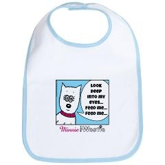 This would be an awesome present for a particularly hungry baby!Westies Hypnotis Ey, Hypnotis Ey Bibs
