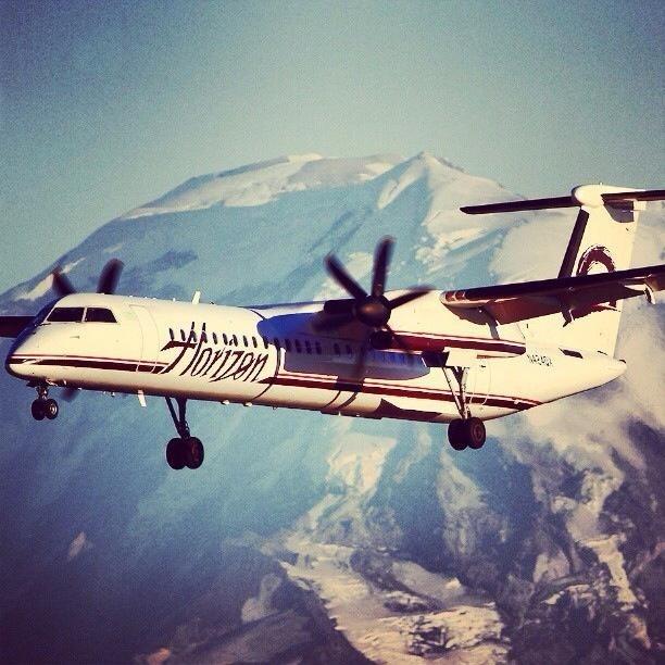 Horizon Air (Subsidiary of Alaska Airlines) http://www.alaskaair.com