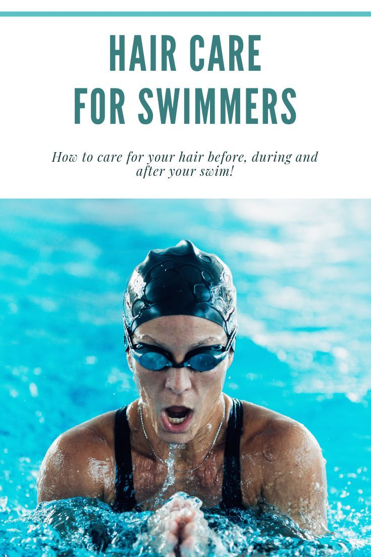 The Best Hair Care Advice For Swimmers Makers Make Parlor Swimmers Hair Hair Care Advice Hair Care