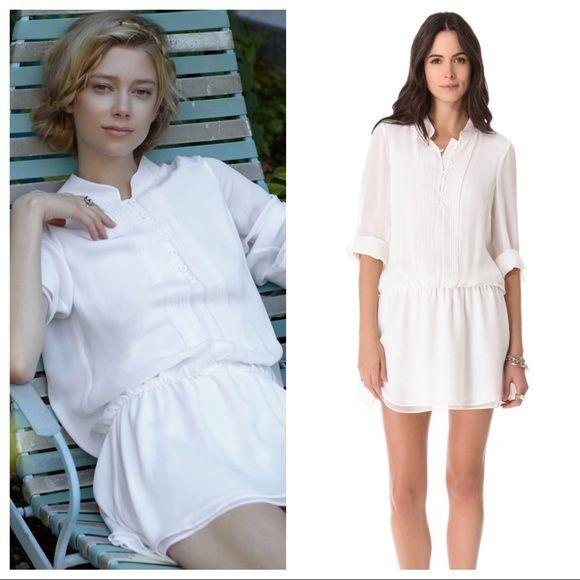 Alice + Olivia Dresses & Skirts - Alice + Olivia Tavi Dropwaist Pin-tuck Dress, sz M