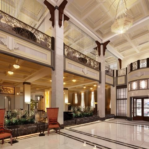 21 best images about fairmont peace hotel shanghai china for Hotel design 77