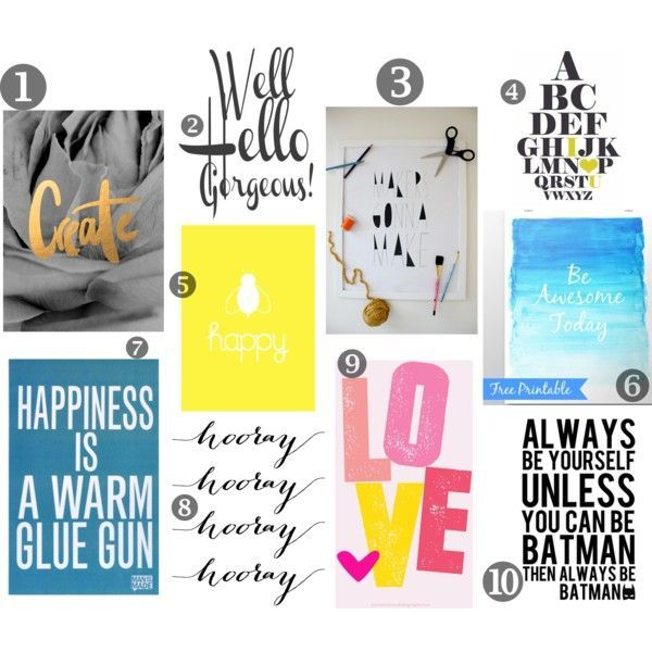 Funky Sunday: +35 Free Printables for your walls!