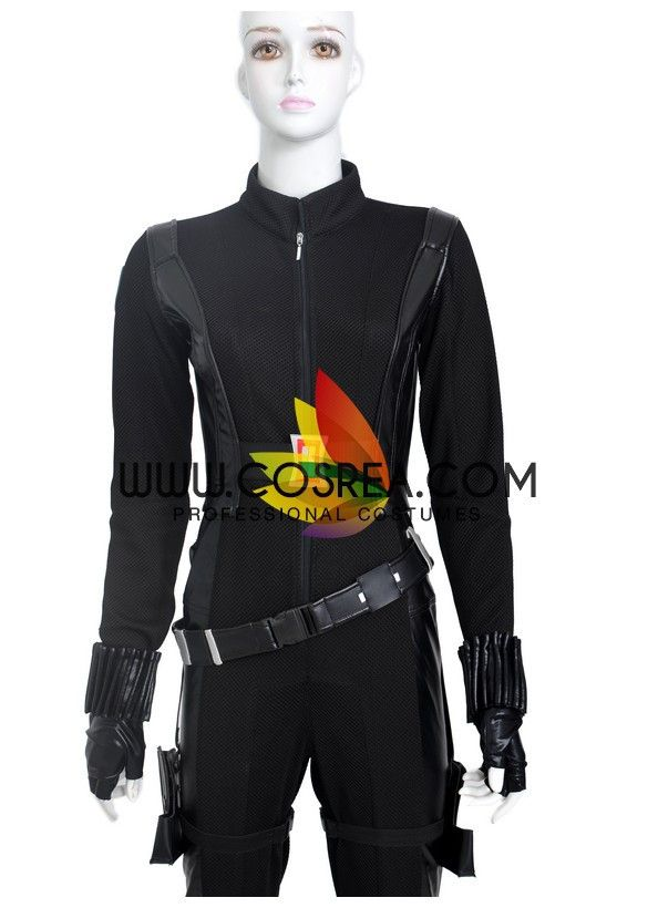 Marvel Captain America The Winter Soldier Black Widow Cosplay Costume