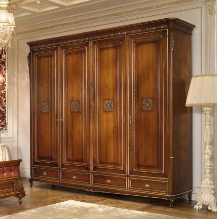 Carved wardrobe