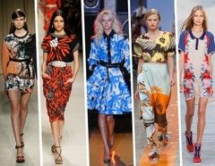 Spring/Summer Fashion Trends 2014 for Her - Tropical Style