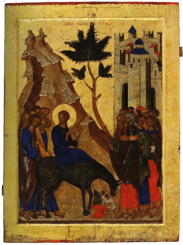 L'entrata in Gerusalemme. c. 1497