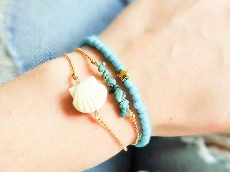 DIY-Anleitung: Zierliche Armbänder mit Perlen selber machen via DaWanda.com