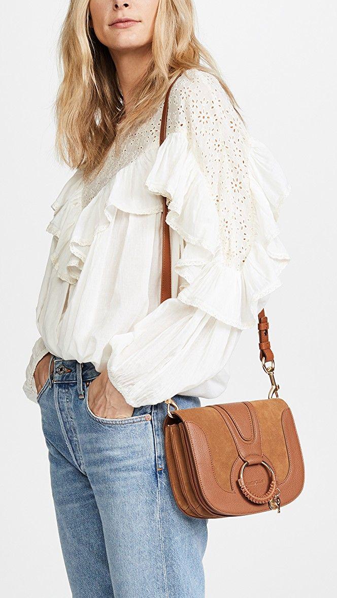 bb6aa9e88a760 Hana Medium Saddle Bag | Accessories | See by chloe bags, Leather ...