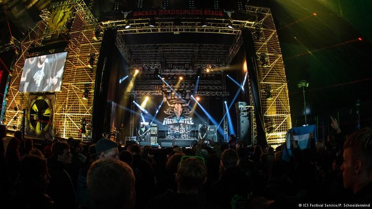 Heavy metal bands from 28 countries compete at Wacken   Music   DW.COM   02.08.2016