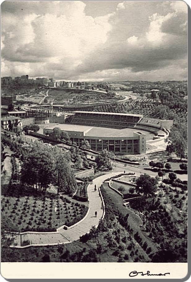 Dolmabahçe stad - 1950 ler