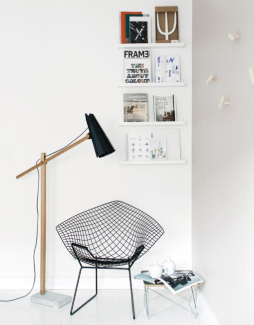 FILLY long neck floor lamp   Himmee