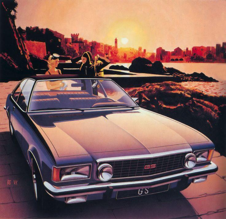 Best Automobile Artwork Images On Pinterest Vintage Cars