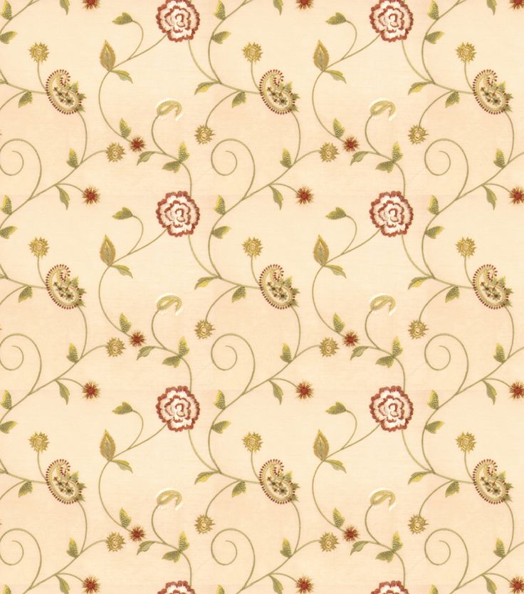 Eaton Square Print Fabric - Dynamic/Beige