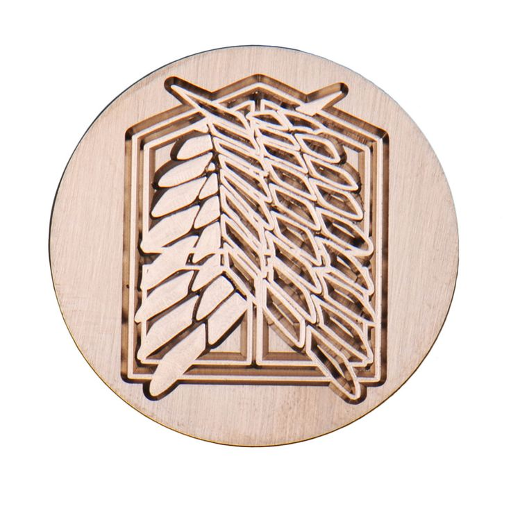 4 Types Anime Metal Sealing Wax Clear Stamps Dia 30mm Stamps Wax Seals  Delicate Cuprum Stamps For Kids Adults Attack on Titan