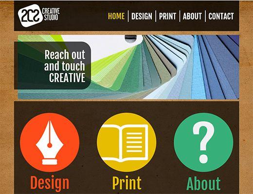 Template 012: Design Agency Modern design for a creative small business or a blog  #template #webdesign #mysiteshop #blog #webtemplate