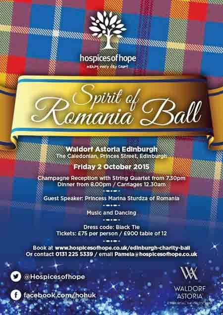 Spirit of Romania Ball – Edinburgh Charity Ball