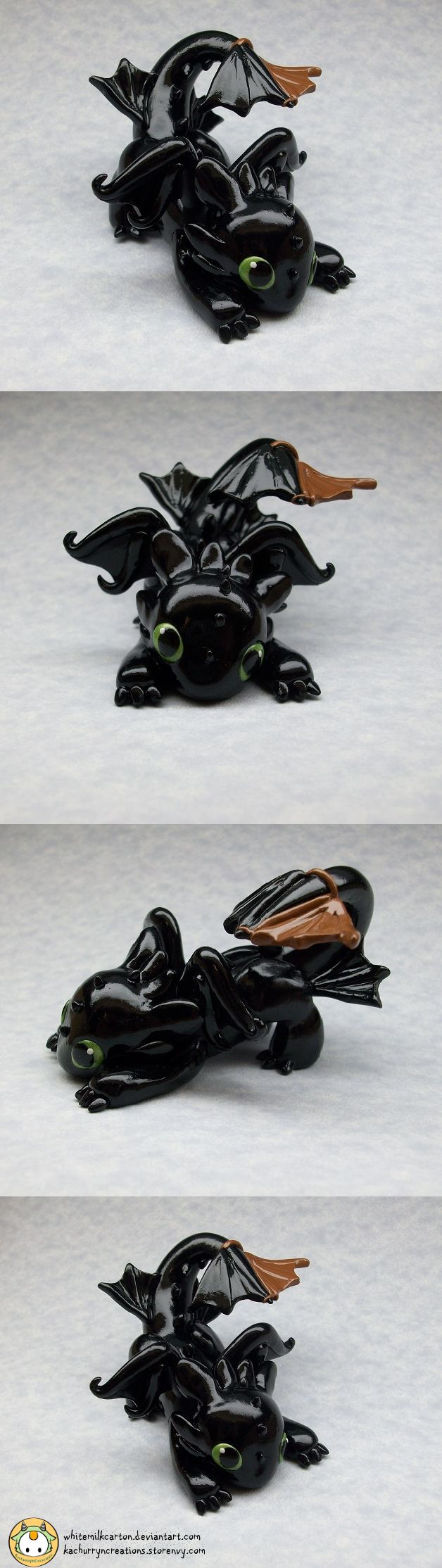 Toothless (Commission) by whitemilkcarton.deviantart.com on @deviantART