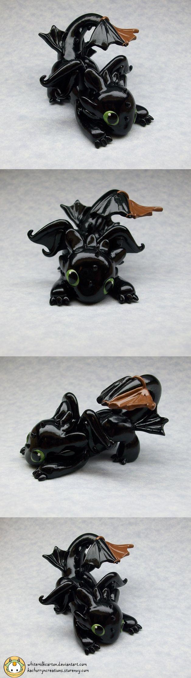 Toothless (Commission) by whitemilkcarton.deviantart.com on @deviantART