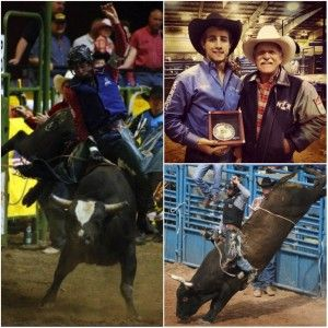 Cowboy Lifestyle Network's Official PRCA Celebrity of the Month for July 2014 is the 19-year-old record-breaking bull rider, Sage Steele Kimzey from Strong City, Oklahoma. According to the 2014 PRCA World Standings, Sage Kimzey currently sits at 1st place with a total earnings of $86, 881.04.