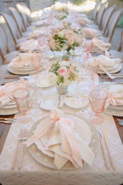 Girly glamour: http://www.stylemepretty.com/little-black-book-blog/2015/05/13/glamorous-romantic-sonoma-summer-wedding/ | Photography: Allyson Wiley - http://www.allysonwiley.com/
