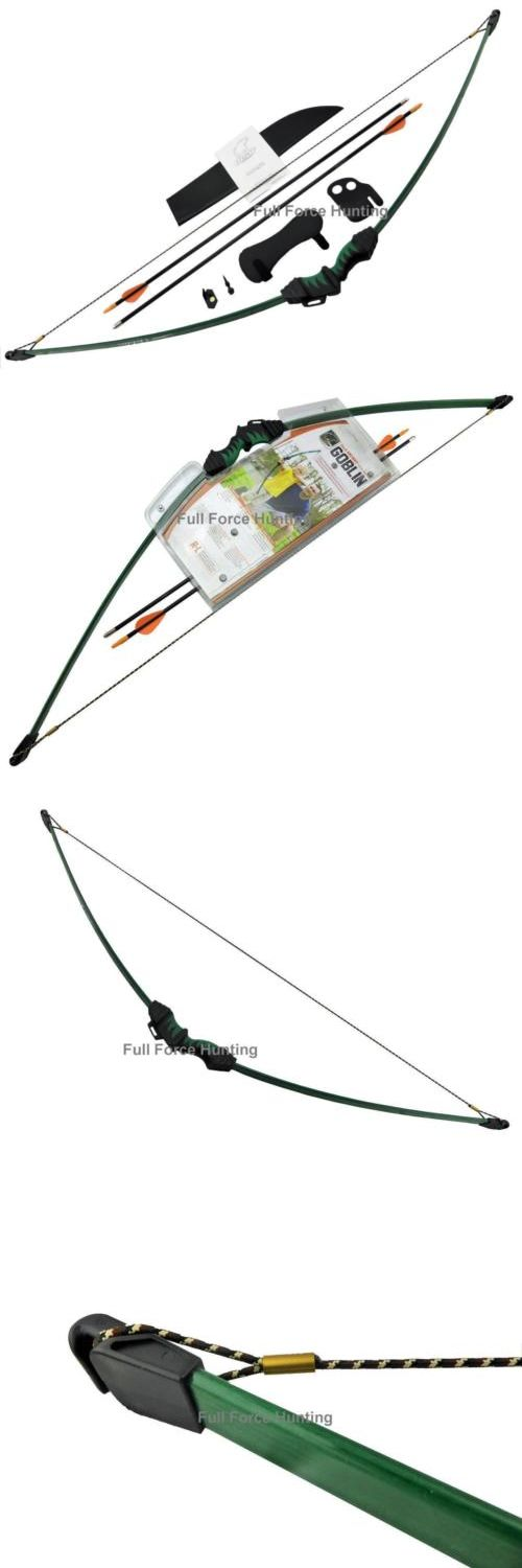 Archery Sets and Kits 161751: New Bear Goblin Youth Recurve Archery Kids Target Bow Arrows Longbow Set Hunting -> BUY IT NOW ONLY: $64.95 on eBay!