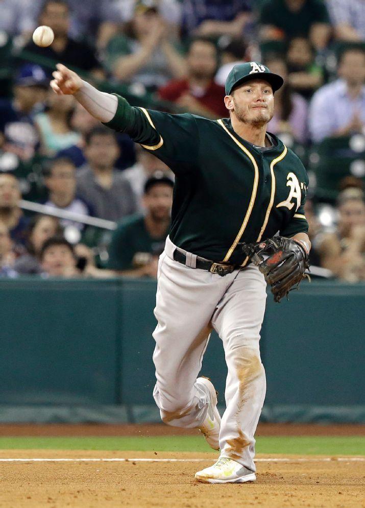 Oakland Athletics third baseman Josh Donaldson