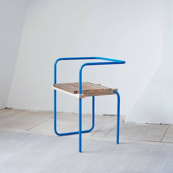 Chair designed by Tomas Alonso, from Anthology Magazine