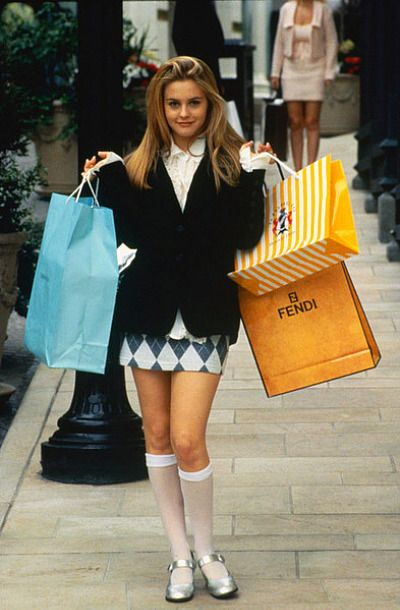 my 90's fashion icon- ie: what would Cher Horowitz wear? ;-)