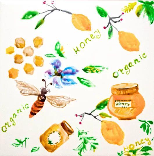 Пчёлка и мёд Пчела собирает пыльцу с цветочков, делает соты и получается вкусный полезный натуральный мёд. А ещё мед полезнее и вкусней с вареньем из лимонов Детская тематика Керамическая плитка для кухни и ванной комнаты 20X20  Краска по керамике Комментируйте, плюсуйте, задавайте вопросы, заказывайте :) #пчёлка и #мёд #керамическаяплитка #рисование #сюжет #ваннаякомната #кухня #изо #рисуемнаплитке #рисованиенаплитке #рисованиенакерамике #плитканакухню #плитканазаказ #плиткавванную…