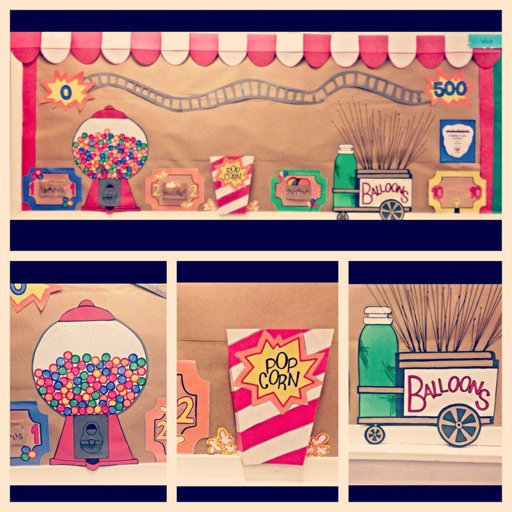 My AR Carnival bulletin board!!