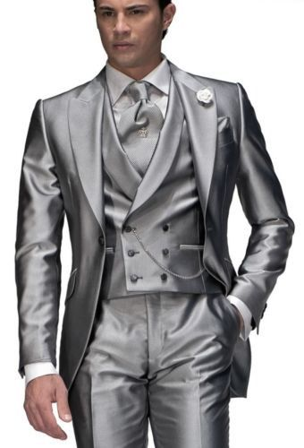 8 best images about Silver Tuxedos on Pinterest | Grey tux, Suits ...