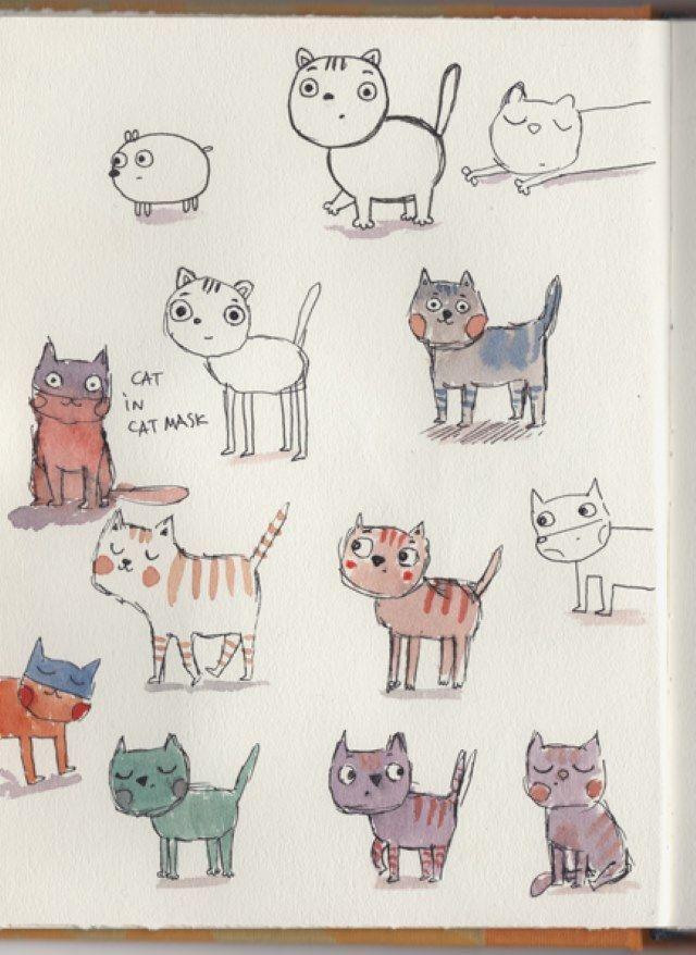Sketchbook : Evgenia Golubeva portfolio
