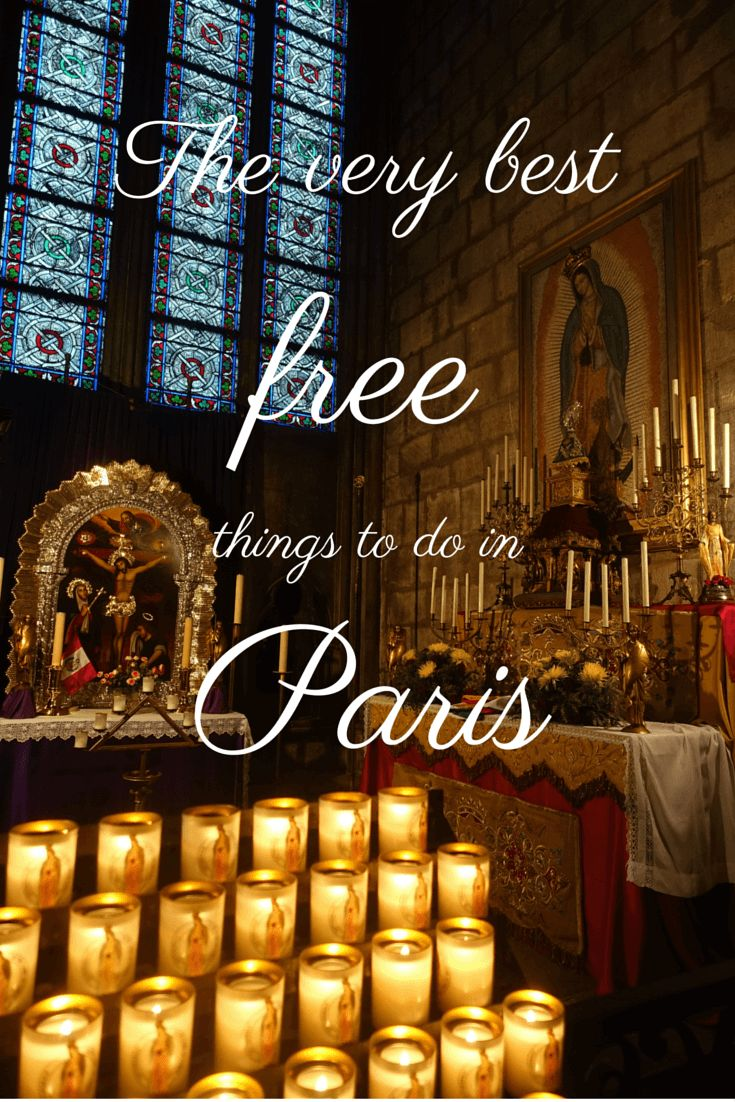 The Best free things to do in Paris