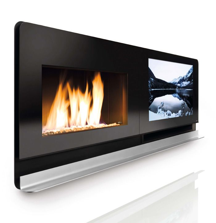 Looking for that jaw dropping entertainment piece? Look no further then this very elegant installation from Loewe and MCZ. The Loewe MCZ Scenario is a 37-inch LCD TV with 600 W speakers along with a gas or even wood burning fireplace. The frame of this innovative product is made of varnished steel and has a tempered glass to protect the wide screen and wall. There is a completely invisible fire door that will not stand between you and the warmth of the burning flame. The shelf is in…