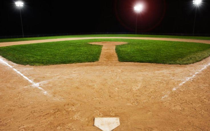 baseball field Wallpaper HD Wallpaper