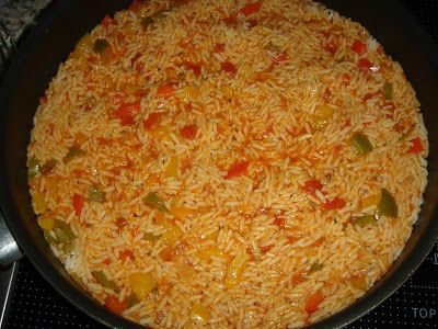 Betty's Cuisine: Μεξικάνικο ρύζι