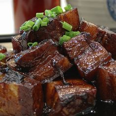 Try this Anthony Zhao's Red Braised Pork recipe by Chef Rick Stein. This recipe is from the show Rick Stein's Taste Of Shanghai.